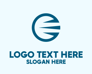 Forwarding - Fast Delivery Circle  logo design