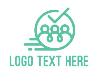 Communication - Blue Team logo design