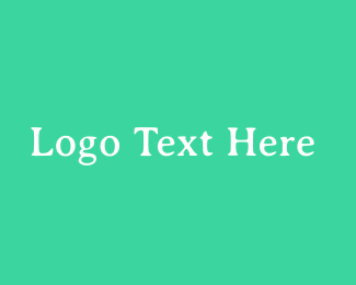 """Fresh Green Serif Text"" by BrandCrowd"