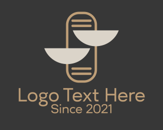 Law Firm - Law & Justice logo design