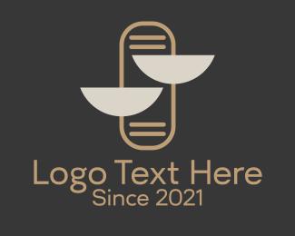 Law - Law & Justice logo design