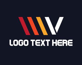 Letter V - Automotive Letter V logo design