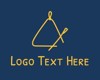 Instrument - Golden Triangle Music Instrument logo design