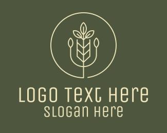 Crop - Agriculture Crop Plant logo design