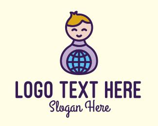 Child - Global Child Care logo design