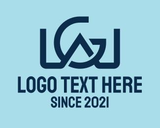 """""""G & W Monogram"""" by Alexxx"""