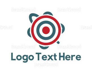 Target - Target Turtle logo design