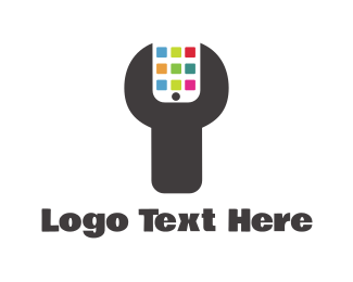 Customer Service - Phone Technician logo design