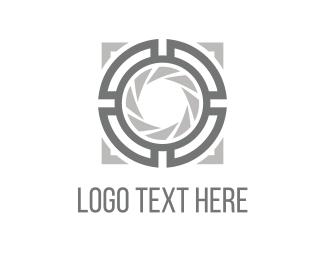 Entertaiment - Camera Lens logo design