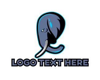 Thailand - Elephant Gaming logo design