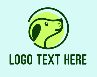 Veterinary - Green Dog Veterinary logo design