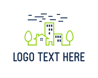 Community - Green City logo design