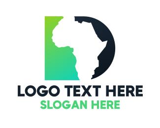 Geography - Africa D logo design