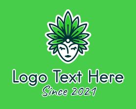 """Organic Leaf Headdress "" by novita007"