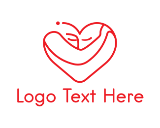 Facial Care - Heart Healthcare logo design