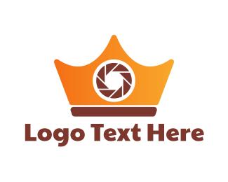 Digicam - Royal Camera  logo design
