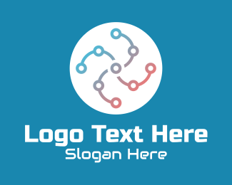 Gadget - Gadget Circuit Tech  logo design