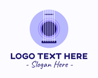 Music School - Guitar Music School logo design