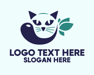 Pet Shop - Cat Pet Spa logo design