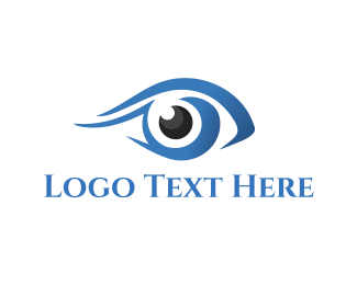 Optics - Blue Eye logo design