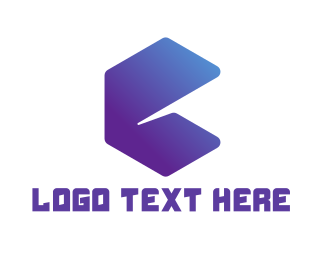 Simple - Abstract Letter E logo design