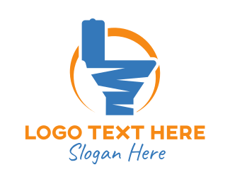 Toilet - Sunrise Toilet logo design