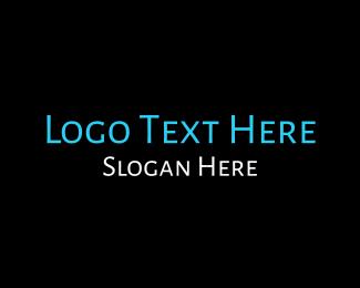 Legible - Blue  & White logo design