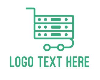 It Company - Server Cart  logo design