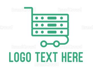 Cart - Server Cart  logo design