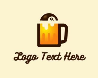 Eight - Billiards & Beer logo design