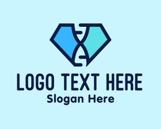 Diamond - Diamond DNA logo design