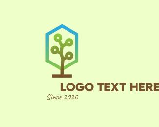 Forest - Forest Tree logo design