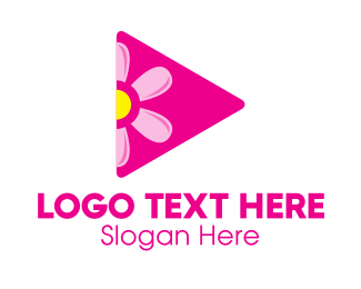 Plectrum - Cute Vlogger logo design