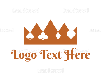 Card Game - King Poker logo design