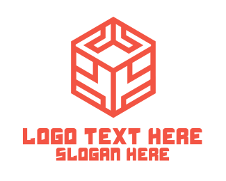 Orange Box - Digital Box logo design
