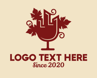 Liqueur - City Wine Bar logo design