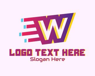 Speedy - Speedy Letter W Motion logo design