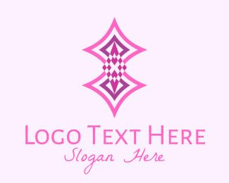 Gem Stone - Retro Diamond Geometric  logo design
