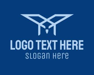 House - Blue Eagle Construction  logo design