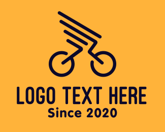 Minimal - Bike Wings logo design