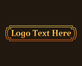 """""""Classic Gold Wordmark"""" by brandcrowd"""