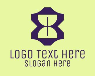 Hourglass - Modern Hourglass logo design