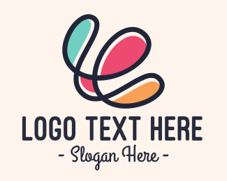 Doodle - Pastel Doodle logo design