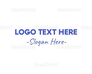 Casual - Casual Blue logo design