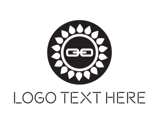 Link - Sun Link logo design