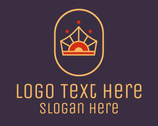 Crown - Elegant Royal Crown logo design