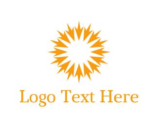 Click - Arrow Sun  logo design