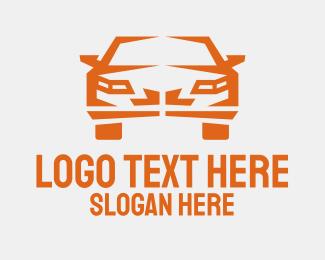 Style - Orange Car Style logo design