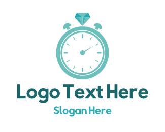 Time - Lap Time Jewellery logo design