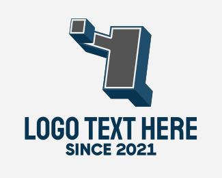 Street Wear - 3D Graffiti Letter Y logo design